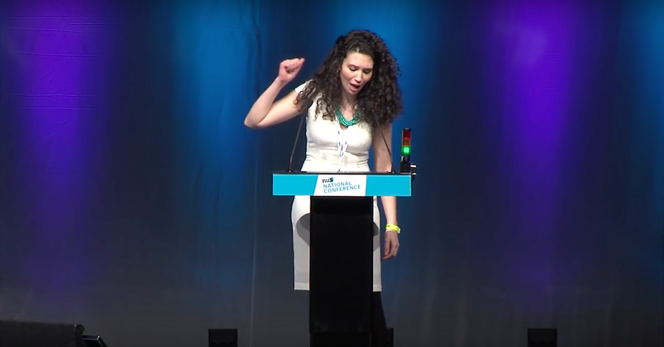 Malia Bouattia, president of the NUS